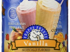 32 oz DaVinci Frappe Freeze Vanilla Smoothie Base Mix, Add to Fruit, Juice, Soda, or Coffee