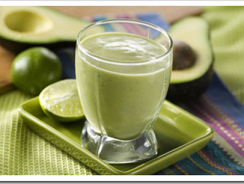 Avocado Melon Juice Recipe