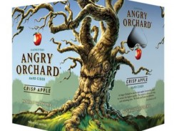 Angry Orchard Crisp Apple Hard Cider,  6 Pack of 12oz Bottles $8.99