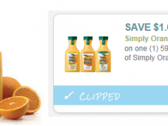 *NEW* $1/1 Simply Orange Juice